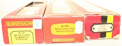 Lot 381 - 3 Hornby Locomotives and tenders to include...
