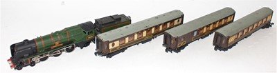 "Lot 383 - Hornby Dublo 2235 ""Barnstaple"" 2-rail loco and..."