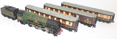 "Lot 383 - Hornby Dublo 2235 ""Barnstaple"" 2-rail loco and..."