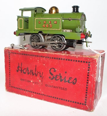 Lot 257 - Hornby 1928 No.1 Tank Clockwork loco 0-4-0...