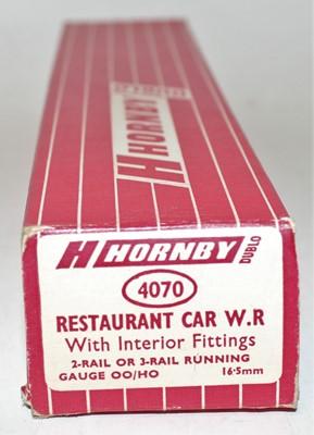 Lot 336 - Hornby Dublo 4070 BR(W) Restaurant Car, small...