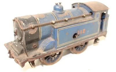 Lot 235 - Bassett Lowke 1921-9 0-4-0 Clockwork tank...