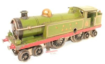 Lot 236 - Hornby 1926 No.2 4-4-4 Tank Locomotive, green,...