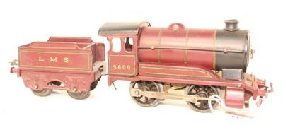 Lot 237 - Two post war 0-4-0 Hornby clockwork locos,...