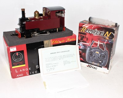 Lot 1 - Accucraft Gauge 1 Live Steam Gas Fired model...