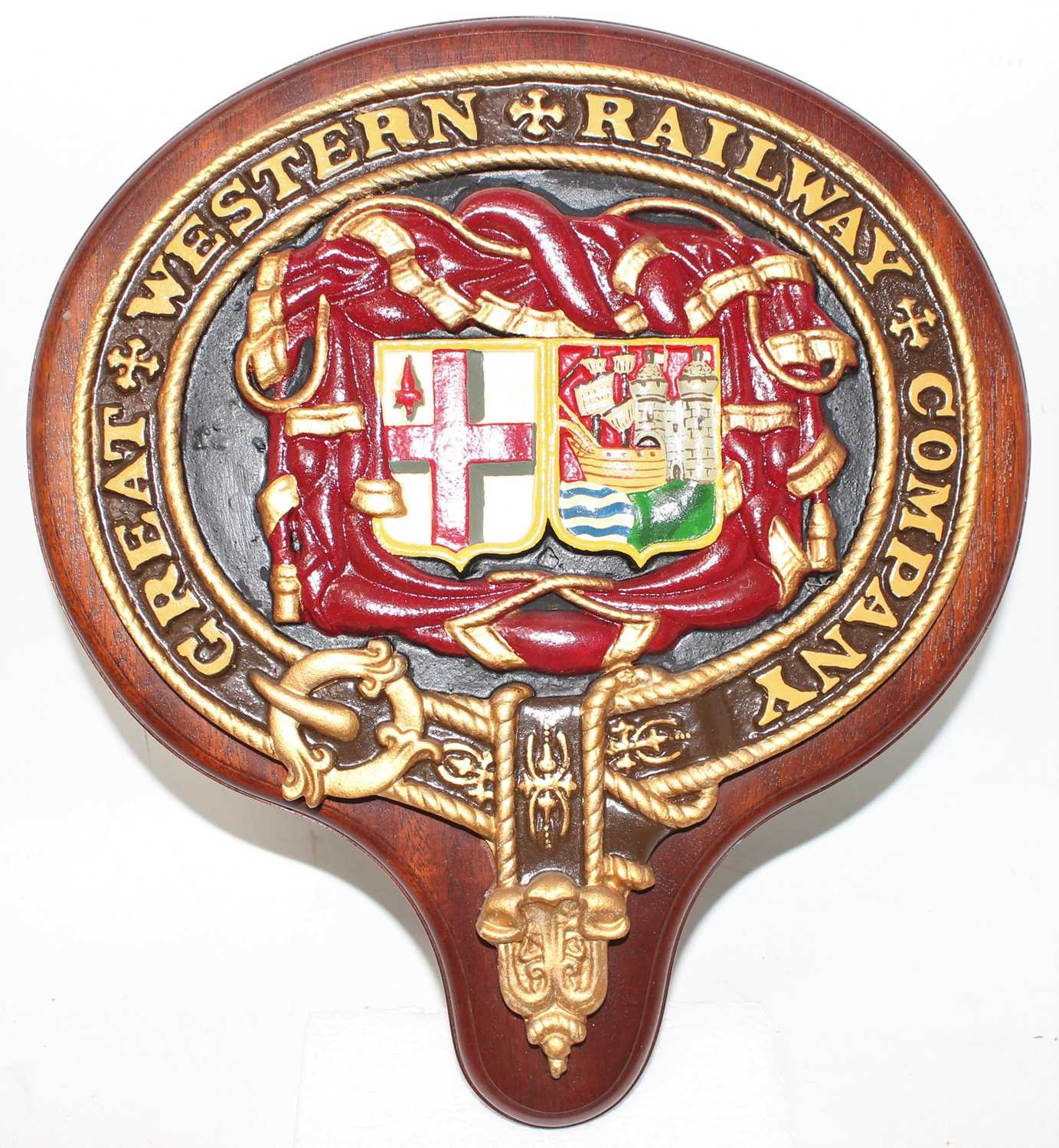 Lot 2 - A reproduction Great Western Railway company...
