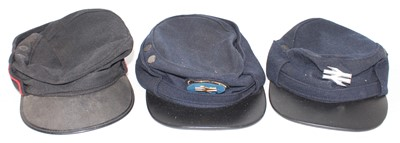 Lot 8 - 3 Various British Railway Uniform Caps