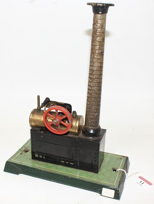 Lot 11 - Bing Stationary Steam Plant, comprising...