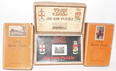 Lot 14 - 4 various Railway/Travel Puzzles, to include...