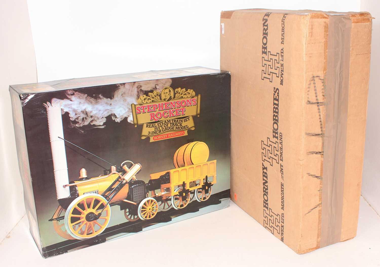 "Lot 15 - Hornby 3½"" gauge Stephensons Rocket,..."
