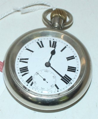 Lot 20 - Great Western Railway POCKET WATCH engraved on...