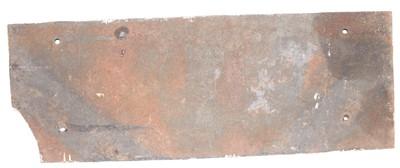 Lot 22 - A British Transport Commission cast iron...
