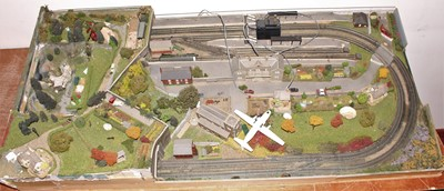 Lot 23 - A very well made N Gauge railway layout,...