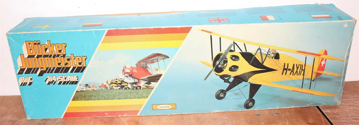 Lot 27 - Svenson 1/4 scale balsa wood kit for a Bucker...