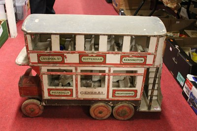 Lot 28 - Early 20th Century wooden constructed model of...