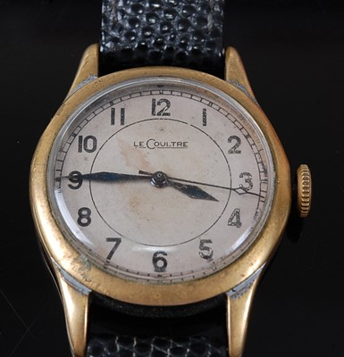 Lot A Gentleman's Jaeger LeCoultre Military Issue...