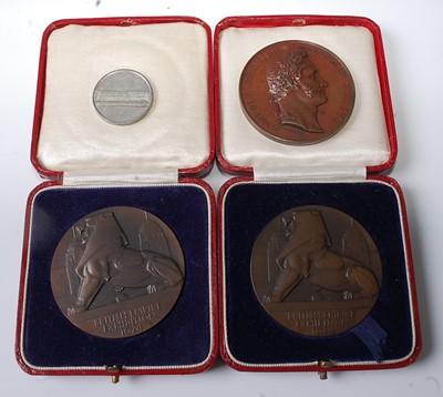 Lot 2016 - Belgium, 1835 Industrial Exposition medal,...