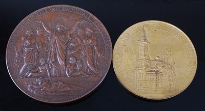Lot France, Universal Exposition 1878 medal in...