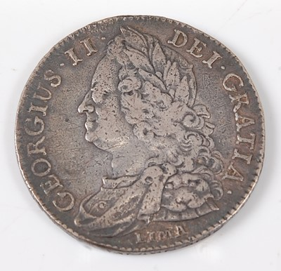 Lot 2166 - Great Britain, 1745 half crown, George II old...