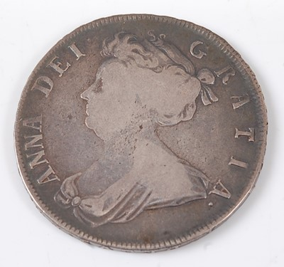 Lot 2167 - Great Britain, 1706 half crown, Queen Anne...