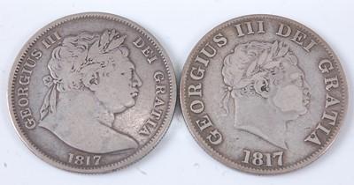 Lot 2168 - Great Britain, 1817 half crown, George III...