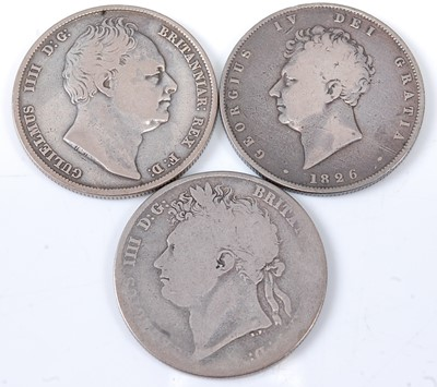 Lot 2174 - Great Britain, 1837 half crown, William IV...