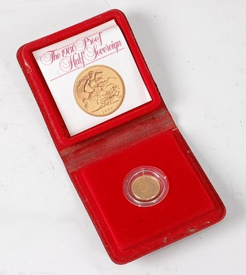 Lot 2041 - Great Britain, 1980 gold proof half sovereign,...