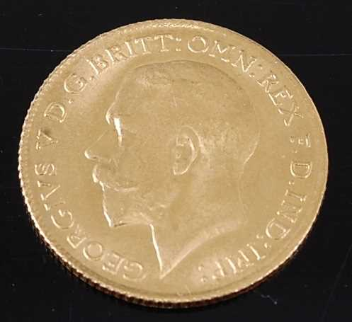 Lot 2044 - Great Britain, 1925 gold half sovereign,...