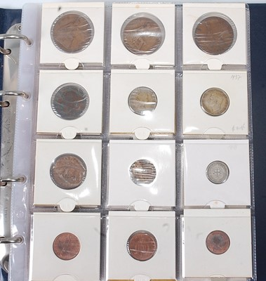 Lot 2190 - Great Britain and World, an album of coins,...