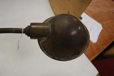 Lot 3 - A mid-20th century industrial type adjustable...