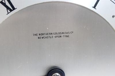 Lot 13 - An Elliott mahogany cased mantel clock, having...