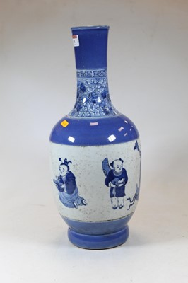 Lot 14 - A large modern Chinese stoneware vase, having...