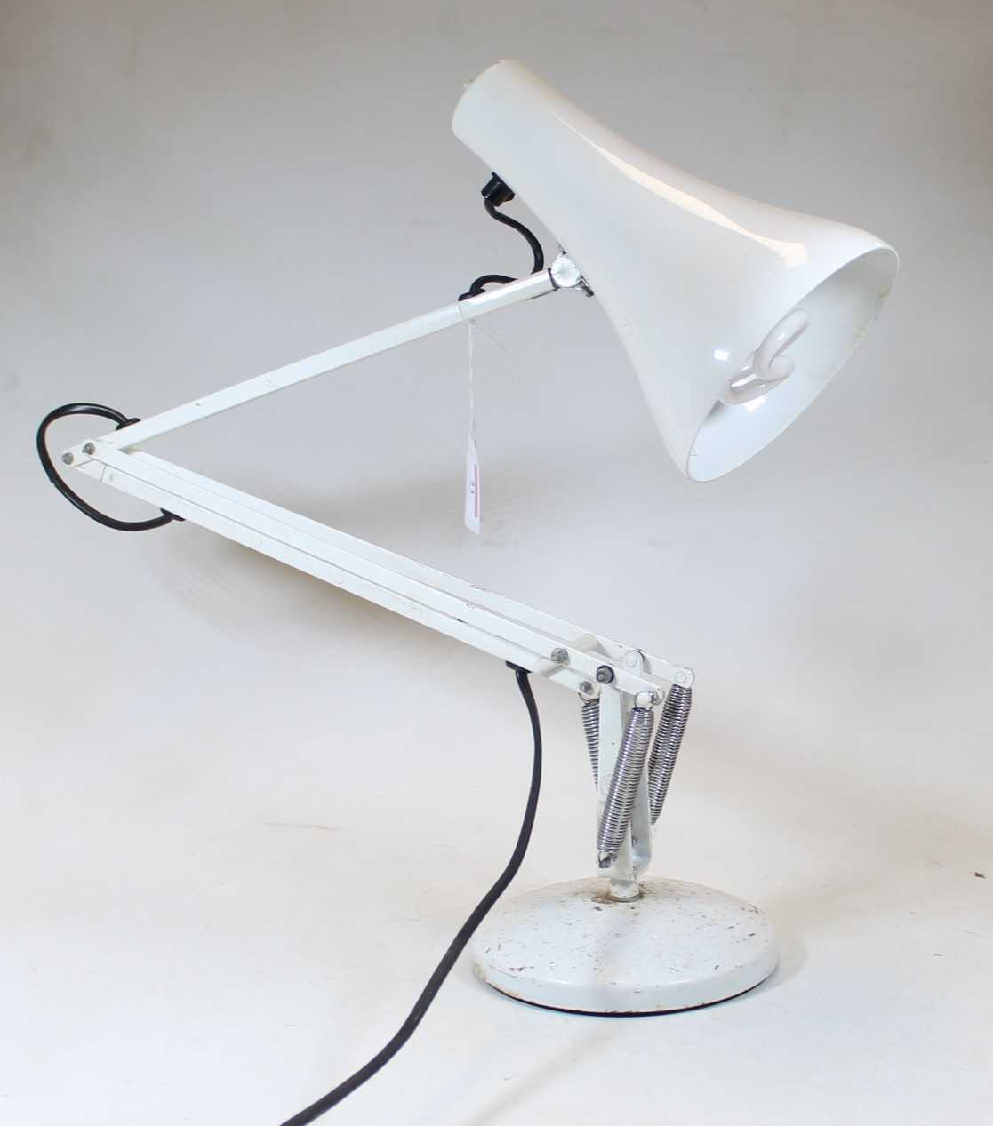 Lot 21 - A white painted Anglepoise Lighting Limited...