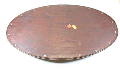 Lot 51 - An early 20th century mahogany tray, of oval...