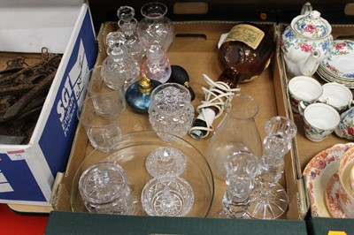 Lot 76 - Two boxes of miscellaneous items, to include...