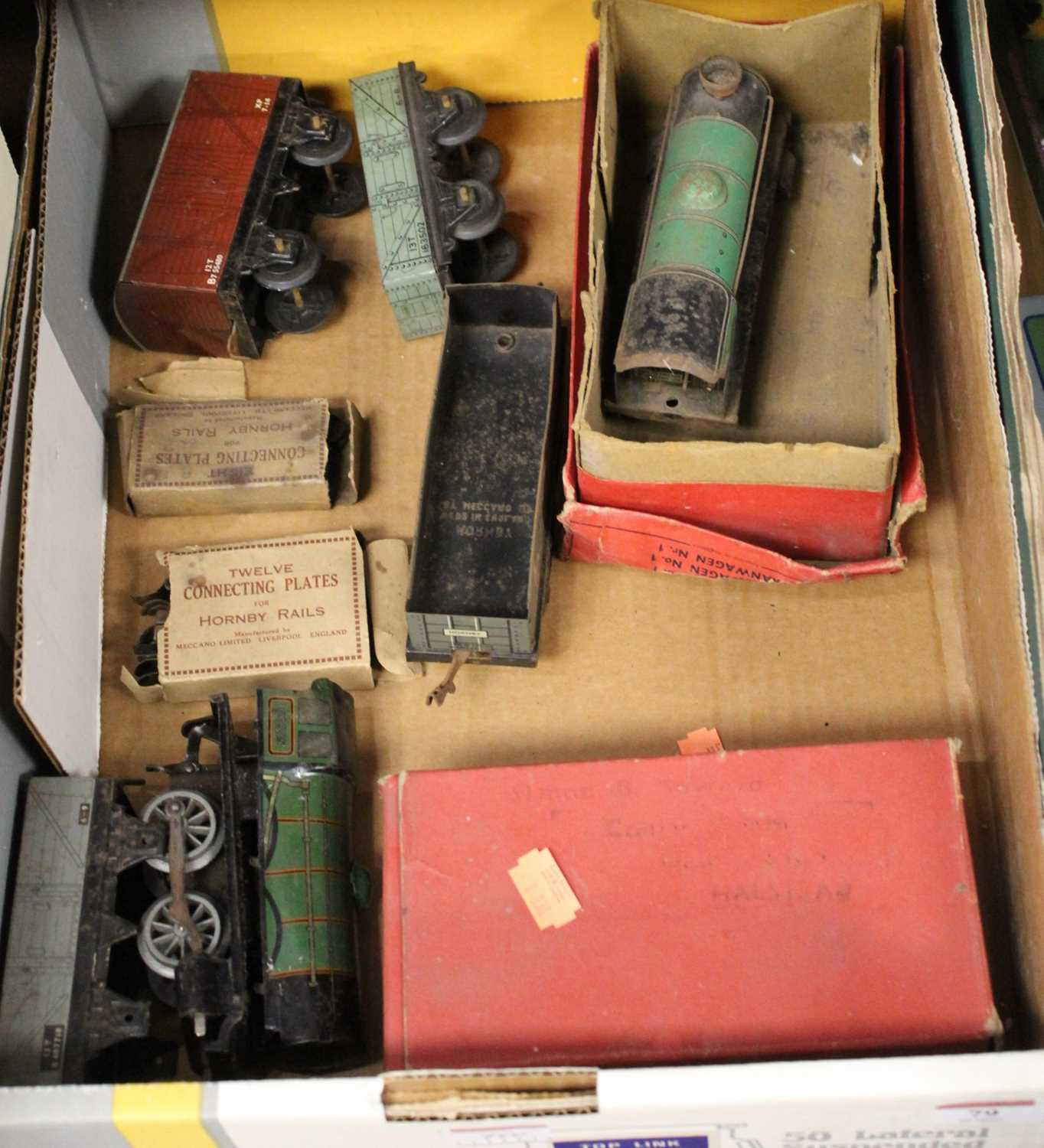 Lot 79 - A small collection of 0 gauge locomotives,...
