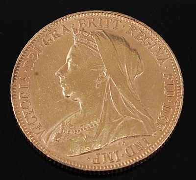 Lot 2048 - Great Britain, 1898 gold full sovereign,...