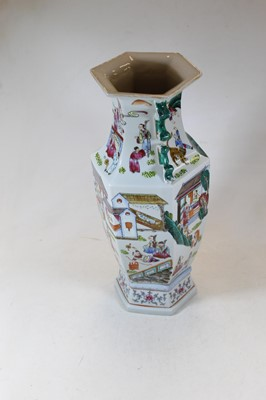 Lot 18 - A reproduction Chinese style vase, of...