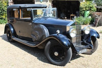 Lot 1932 Rolls Royce 20/25 Sedanca de Ville,...