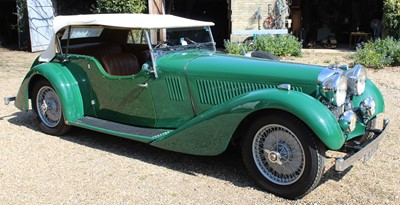 Lot A 1935 Alvis Speed 20 SC 19.82 2 door sports...