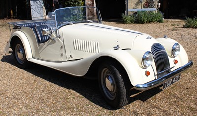Lot 1960 Morgan Plus 4, Four Seater Reg No. TDR...