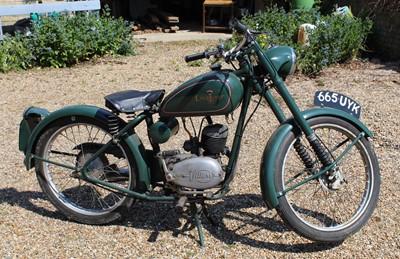 Lot A 1960 Excelsior 98cc Consort, registration No....