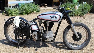 Lot A 1957 Norton OHC International Model 30,...