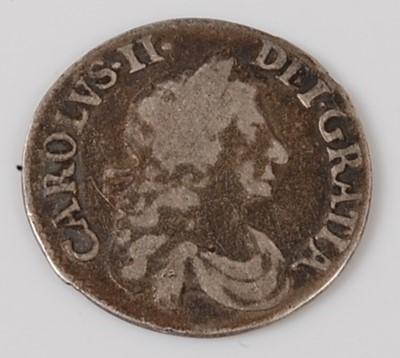 Lot 2187 - England, 1683 threepence, Charles II laureate...