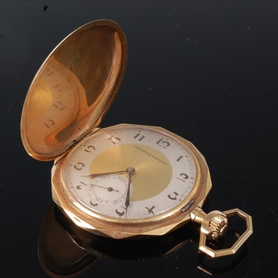 Lot 2685 - A 14ct gold gent's full hunter pocket watch by...