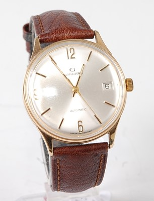 Lot 2689 - A gent's Garrard 9ct gold cased automatic...