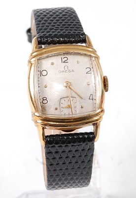 Lot 2644 - An Omega gent's 10ct gold filled wristwatch,...
