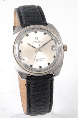 Lot 2646 - A gent's Omega Seamaster Cosmic steel cased...