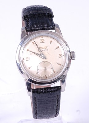 Lot 2658 - A gent's stainless steel Tissot automatic...