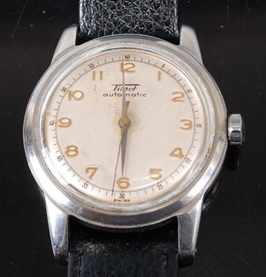Lot 2659 - A Tissot gent's steel cased automatic...